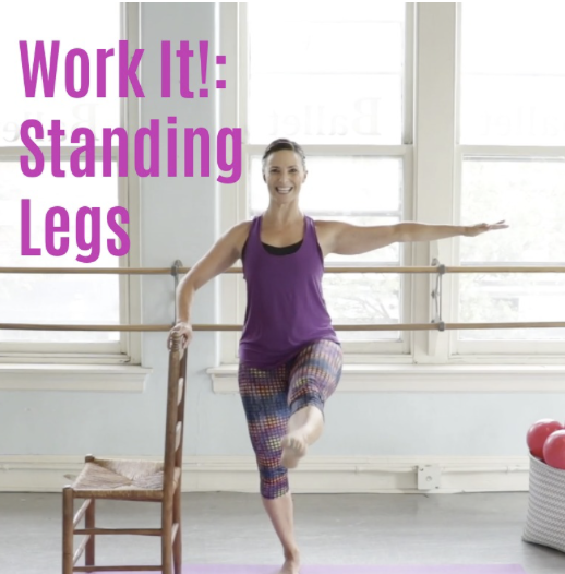 Quick Barre Legs Workout Video