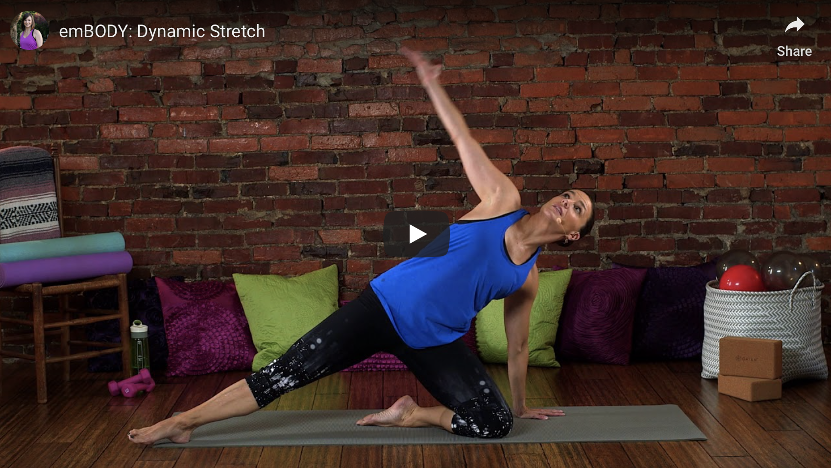 15 minute stretch workout video