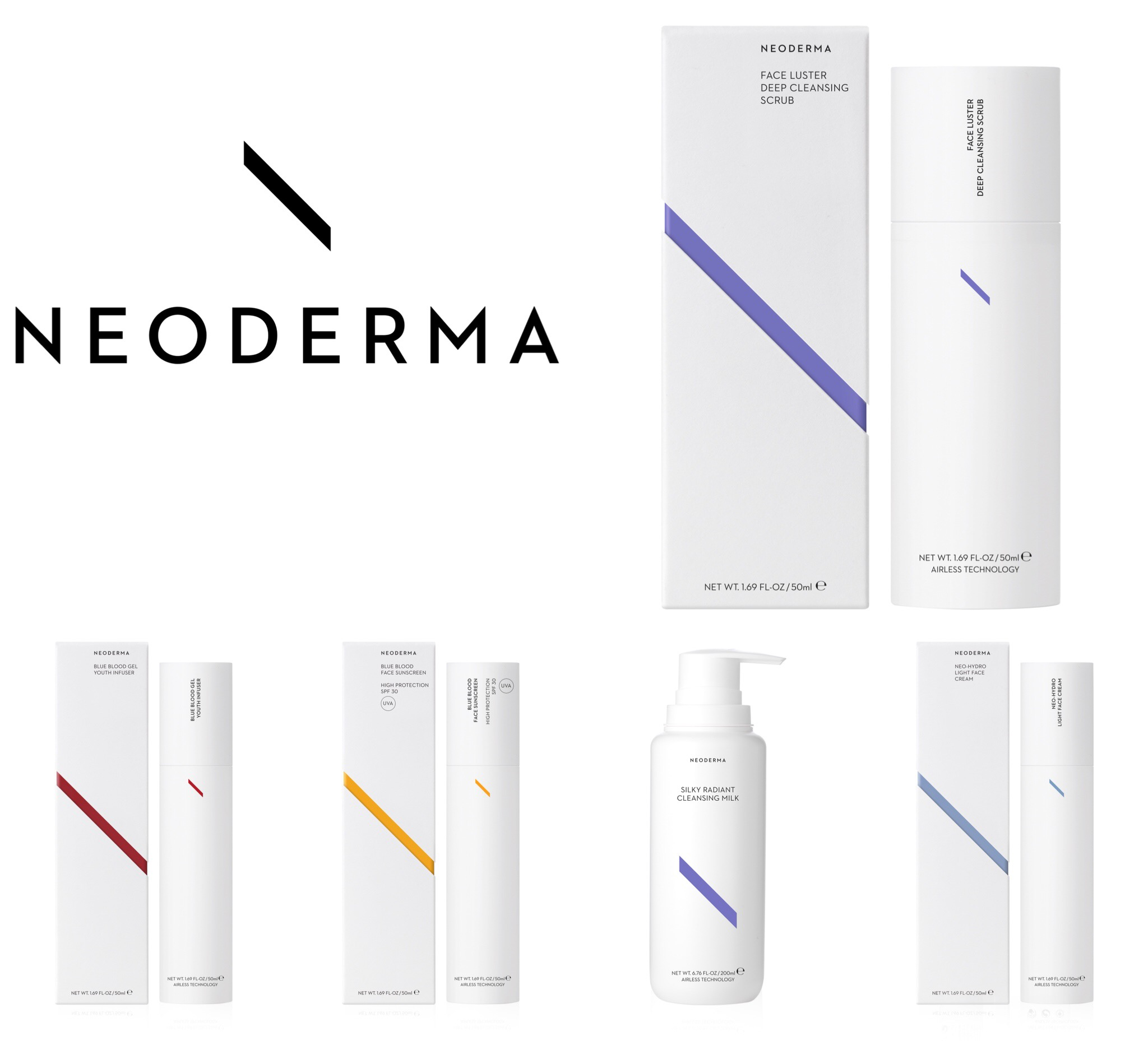 Neoderma Airless producten