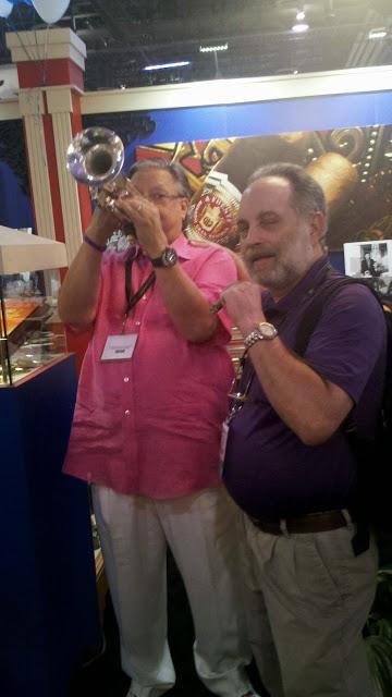Arturo Sandoval @ ICPCR with John W.