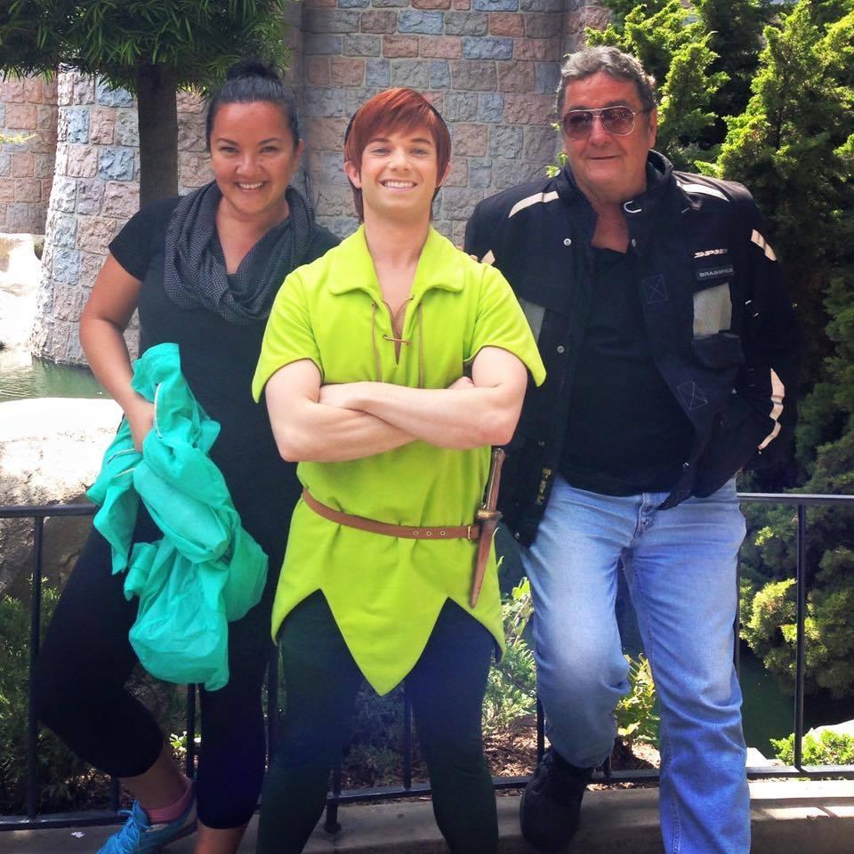 Marissa Brassfield, Peter Pan, and Dean Brassfield
