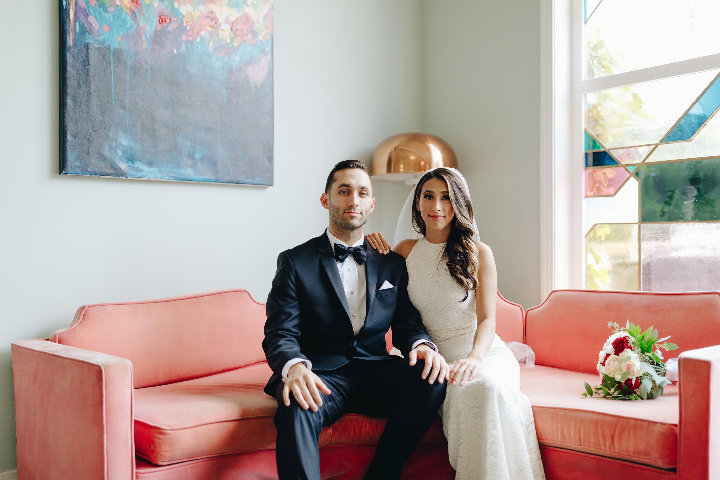 bride and groom los angeles fig house.jpg
