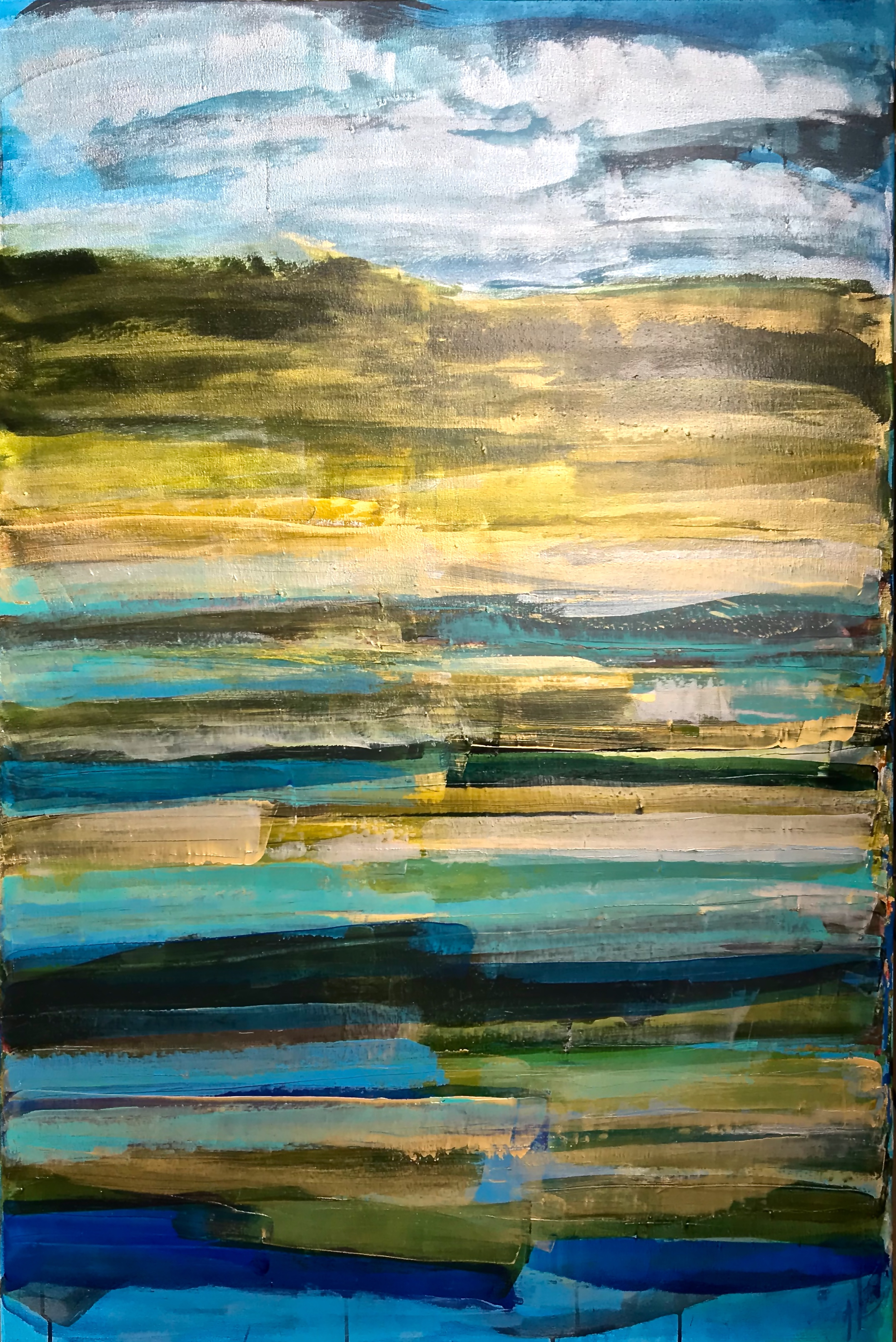 --Low Tide (more light)  Acrylic_ Sumi Ink  60__x 40__2018.jpg
