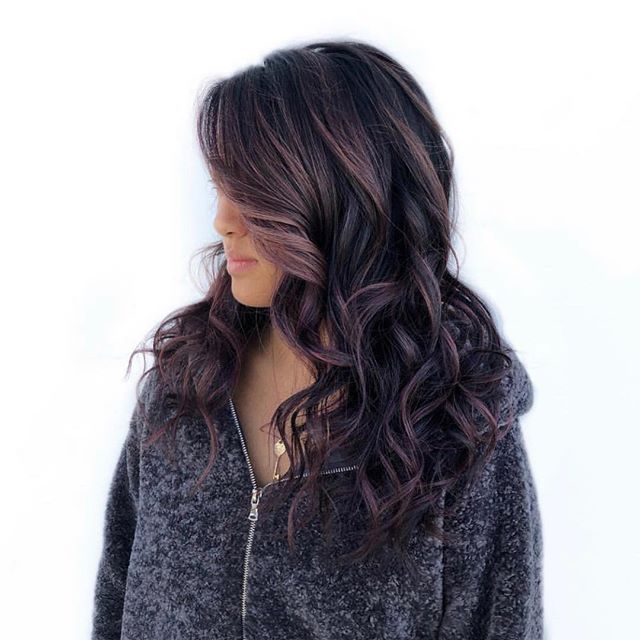 Rose Gold Balayage @jamiegonzales.hair 💓 #theharlotsalon