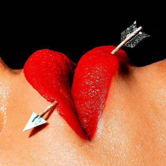 cupid must have missed 🖤 #theharlotsalon | @mariussperlich
