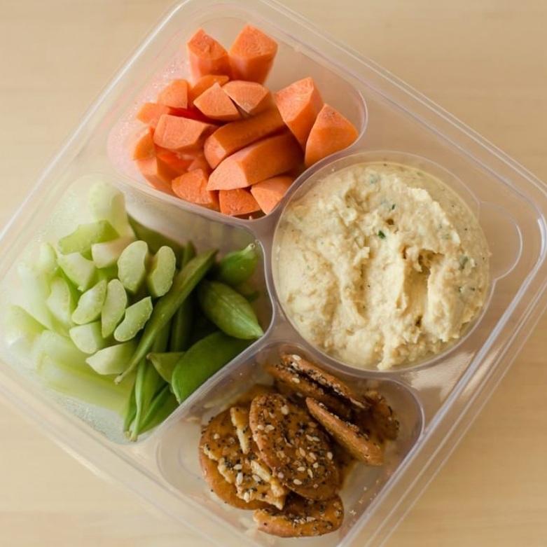 Veggie Hummus Bowl {GF, V}