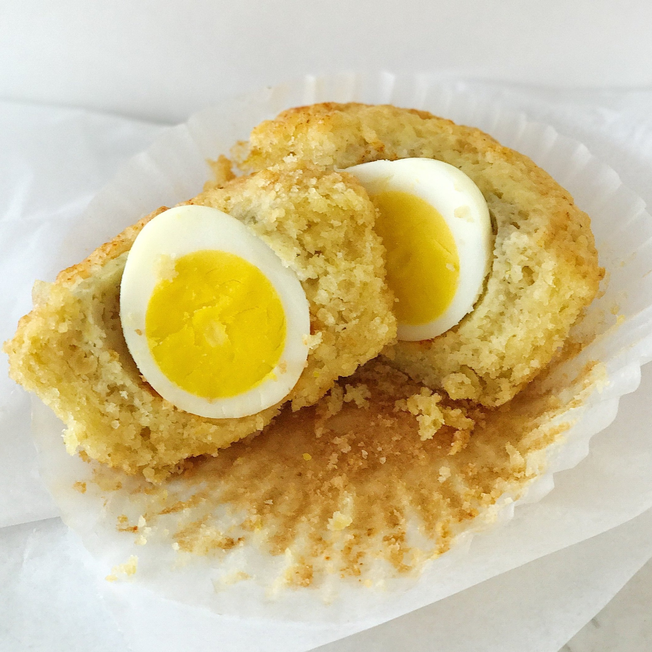 Corn Egg Muffin {GF}