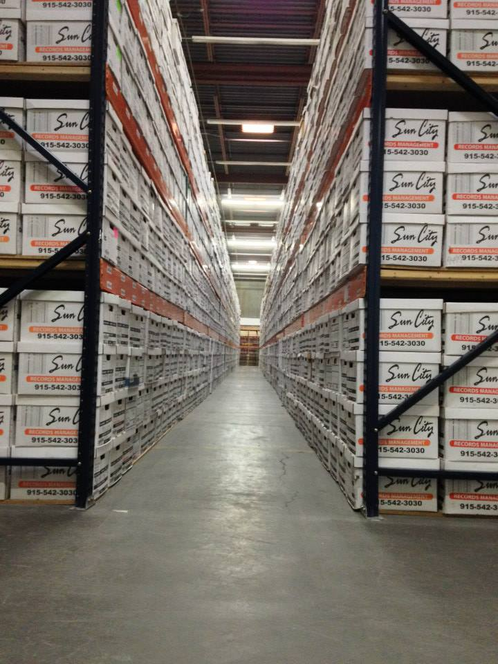 we own our 103,000 Sq/ft facility, which secures the safety and security of all of our customers files