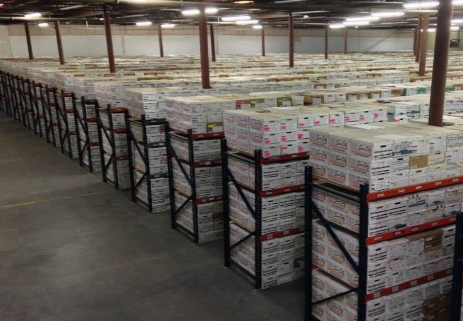 We Maintain over a quarter of a million       Boxes In Our 103,000 Sq/Ft Facility.
