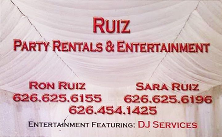Looking for a DJ or need Party Rentals for an upcoming event?  Contact us at one of the following numbers shown.