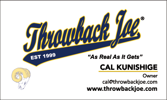 Creating nostalgic jerseys for former LA Rams players since 90's. Clients include:  Vince Ferragamo, Roman Gabriel, John Cappelletti, Deacon Jones and more! Click on image for company website