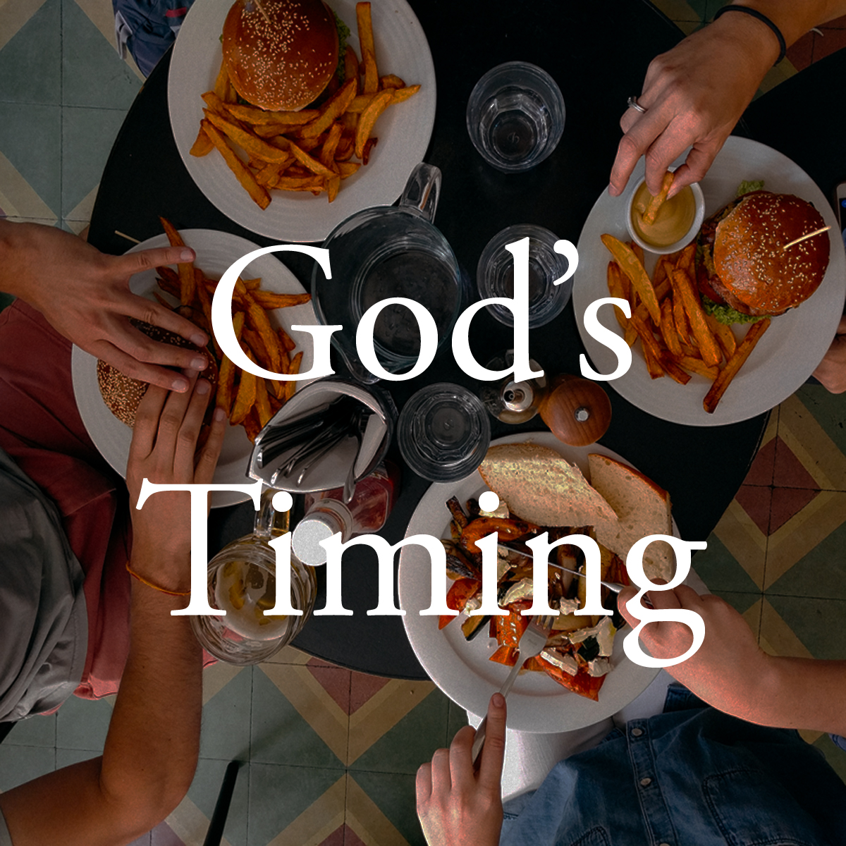 Best Use     As a morning activity and dinner-time faith chat.   Nutritional Value     Learning about God's perfect timing.