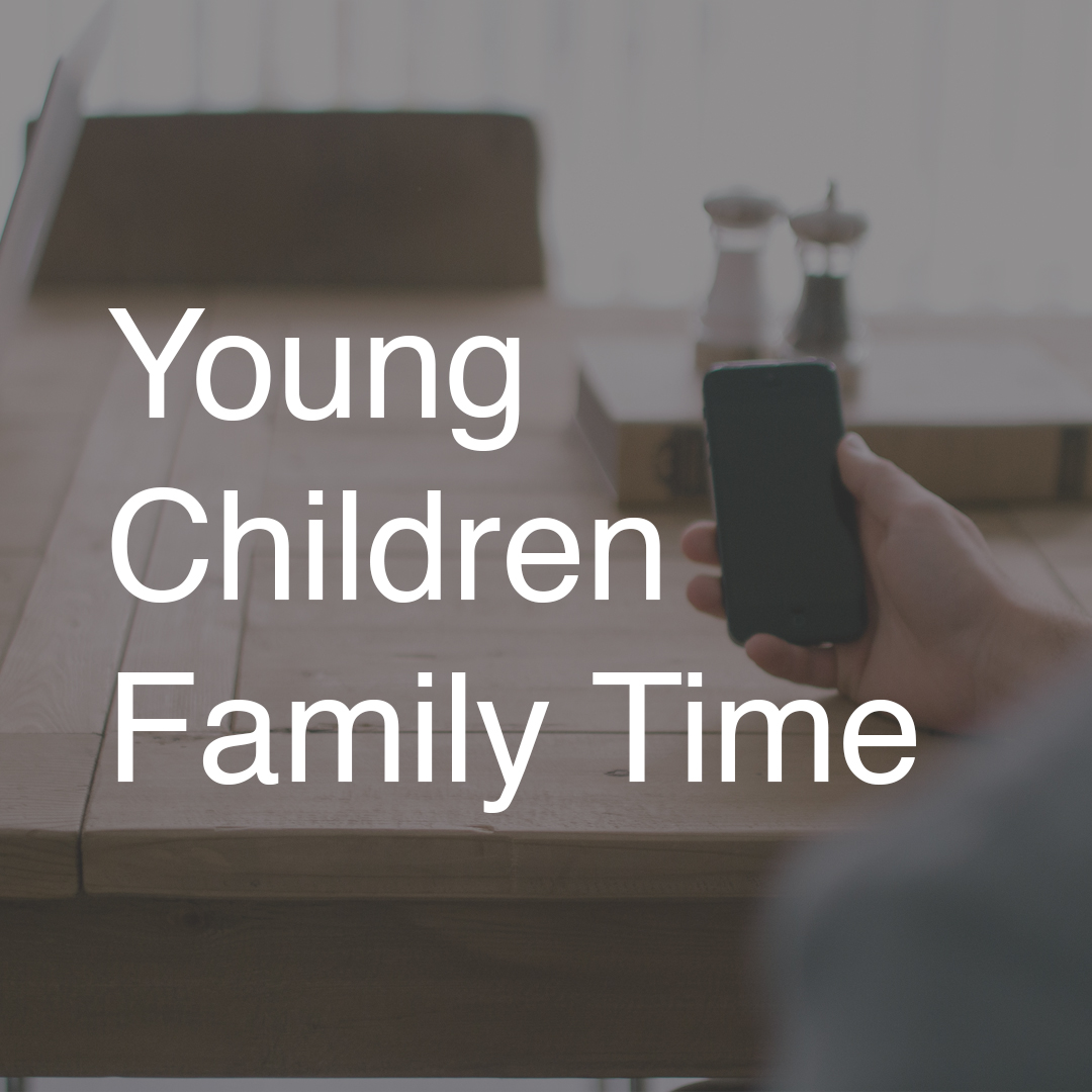 Best Use:  As a family night activity with younger children   Nutritional Value:  Helps children understand that even good things can be negative when they distract us from what's really important like God and our family.