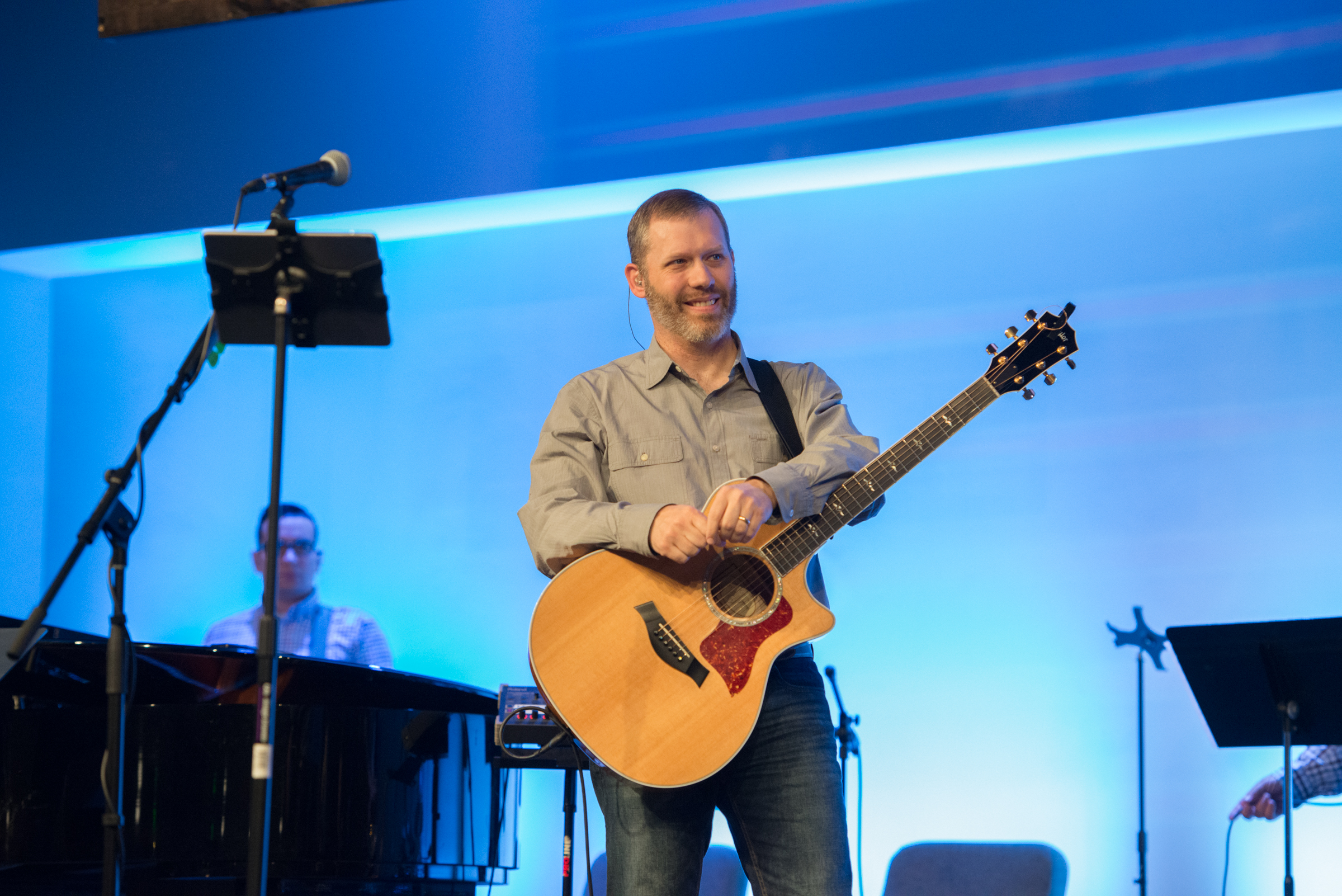 Andy Hallmark - Worship Leaderandy@weemscreek.com