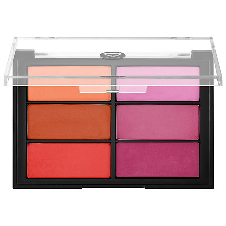VISEART   Blush Palette in Orange/Violet; $80