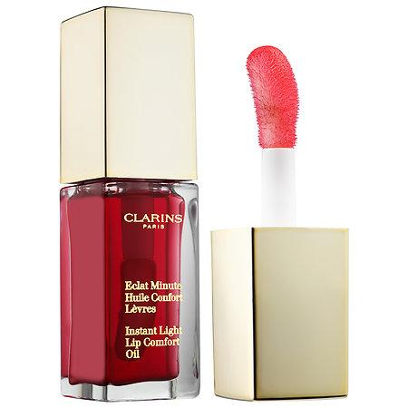 Clarins  Instant Light Lip Comfort Oil; $26