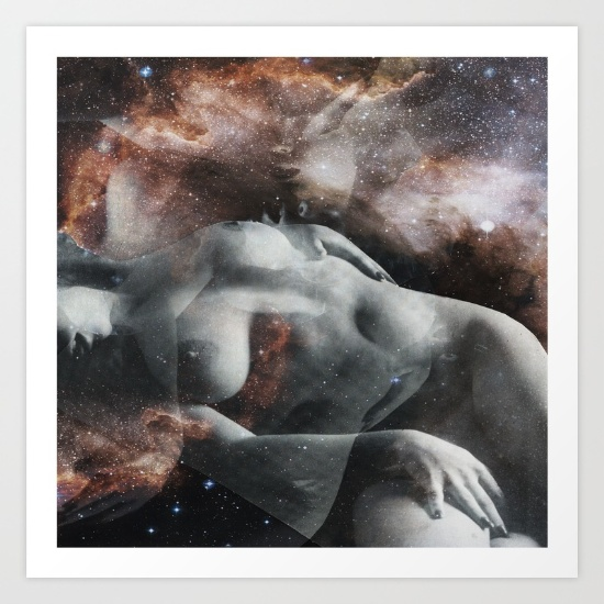 Milky Way by Liaison Erotique print available  here