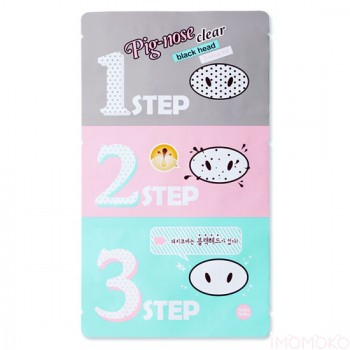 Holika Holika Pig-Nose Clear Blackhead 3 Step Kit; $3.99