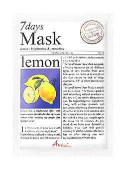 Ariul   7 Days Mask in Lemon;   $1.99