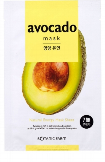 Botanic Farm   Natural Energy Mask Sheet in Avocado;   $2.20