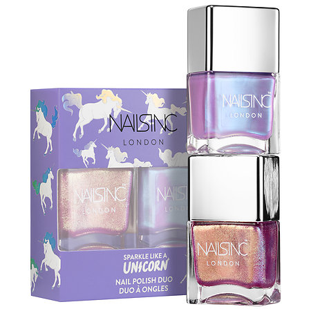 NAILS INC.   Unicorn Nail Polish Duo;   $15