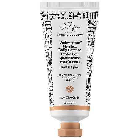 Drunk Elephant   Umbra Tinte™ Physical Daily Defense Broad Spectrum Sunscreen SPF 30;   $36