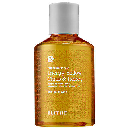 Blithe   Energy Yellow Citrus & Honey Splash Mask;   $45
