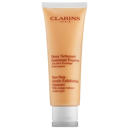 Clarins   One-Step Gentle Exfoliating Cleanser with Orange Extract;   $38