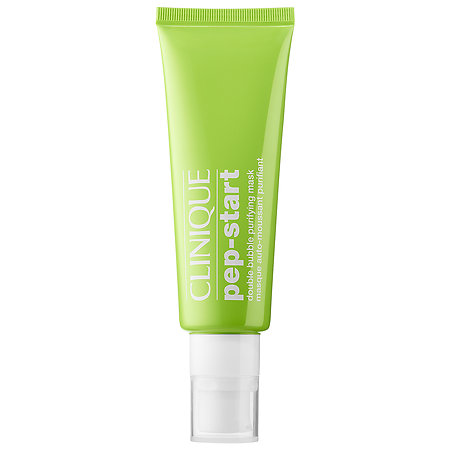 Clinique   Pep Start Double Bubble Purifying Mask;   $24.50