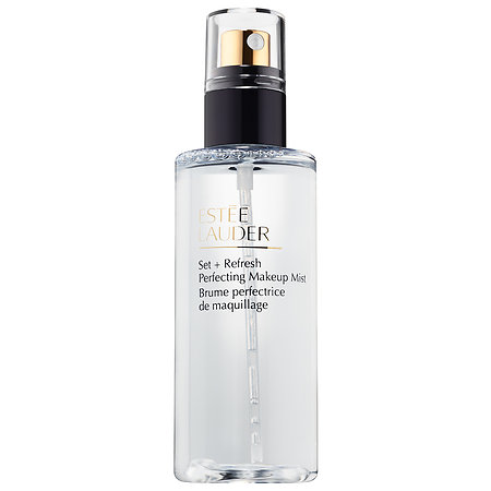 Estee Lauder   Set + Refresh Perfecting Makeup Mist;   $36