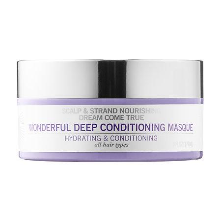 MADAM C.J. WALKER BEAUTY CULTURE   Dream Come True Wonderful Deep Conditioning Masque;   $32