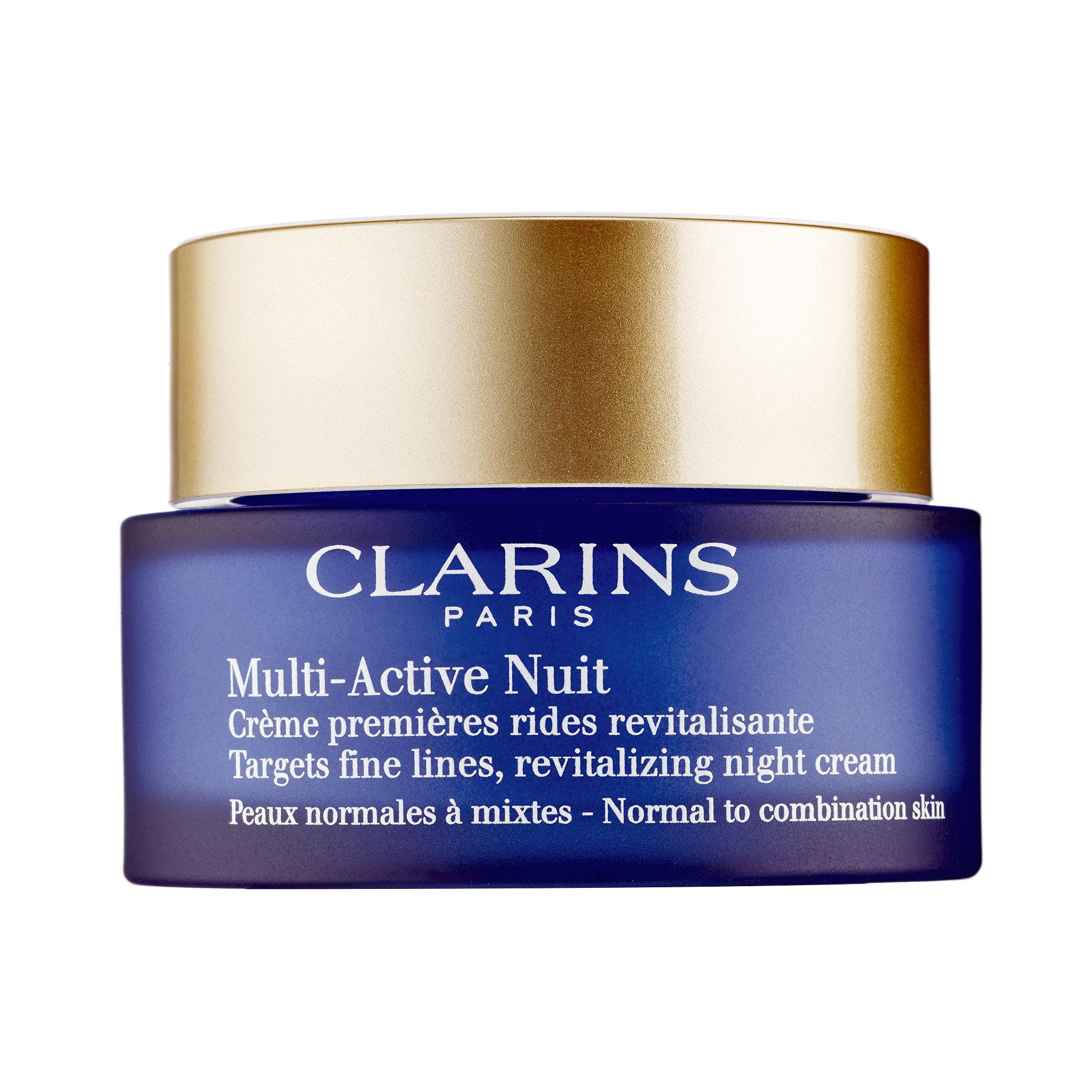 CLARINS   Multi-Active Night Cream - Normal to Combination Skin;   $57