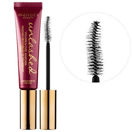 WANDER BEAUTY   Unlashed Volume & Curl Mascara;   $24