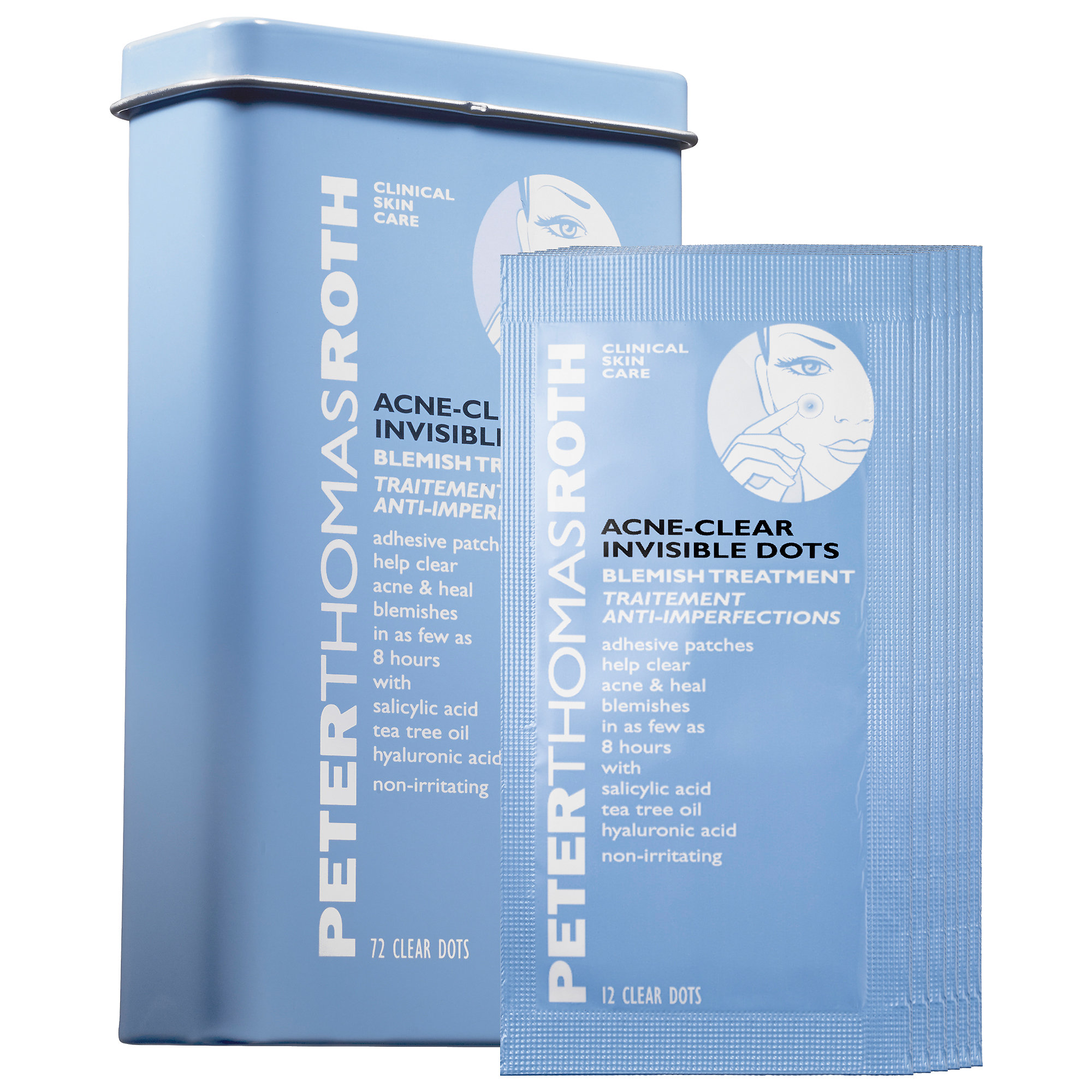 P     eter Thomas Roth   Acne-Clear Invisible Dots;    $     30