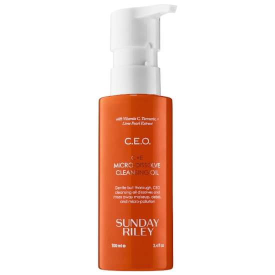 S     unday Riley   CEO C+E Micro Dissolce Cleansing Oil