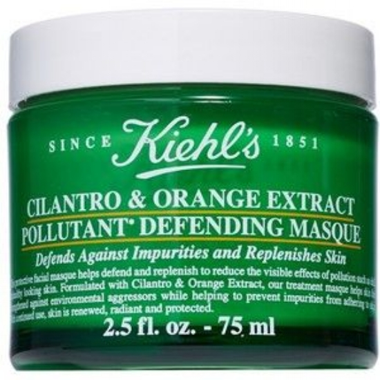 Kiehl's   Cilantro & Orange Extract Pollutant Purifying Masque