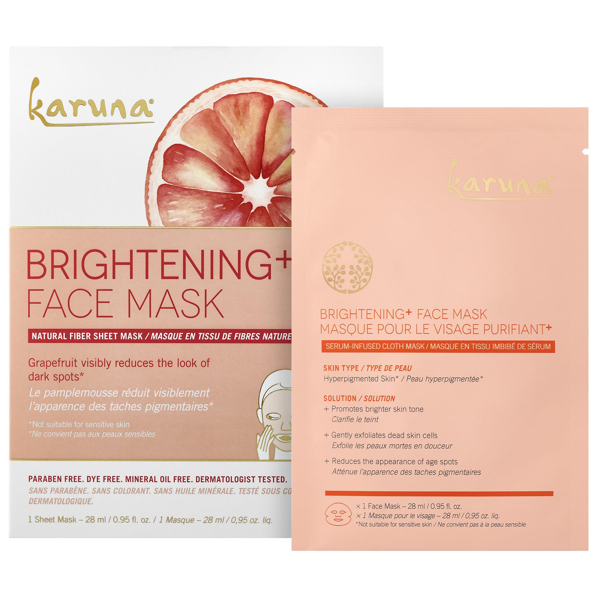 K     aruna   Brightening + Face Mask