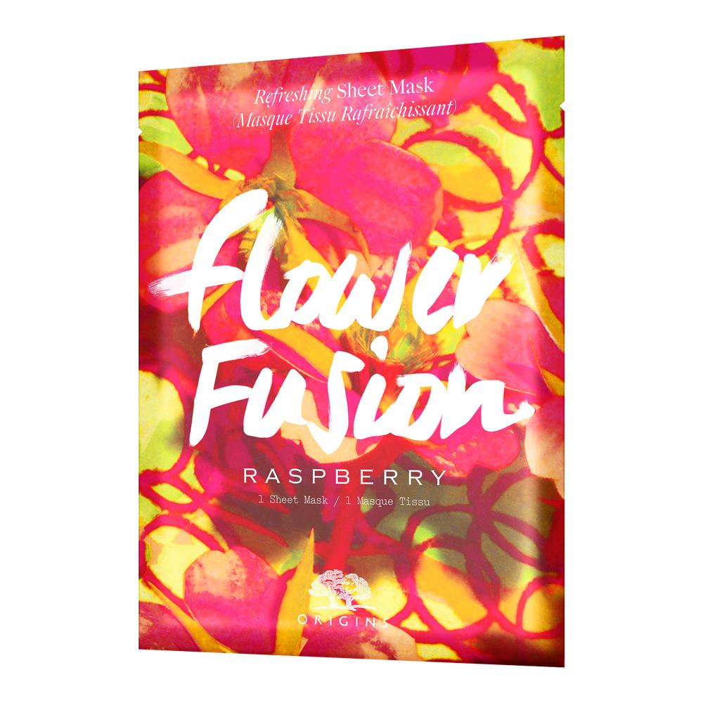 Origins   Flower Fusion Raspberry Refreshing Sheet Mask