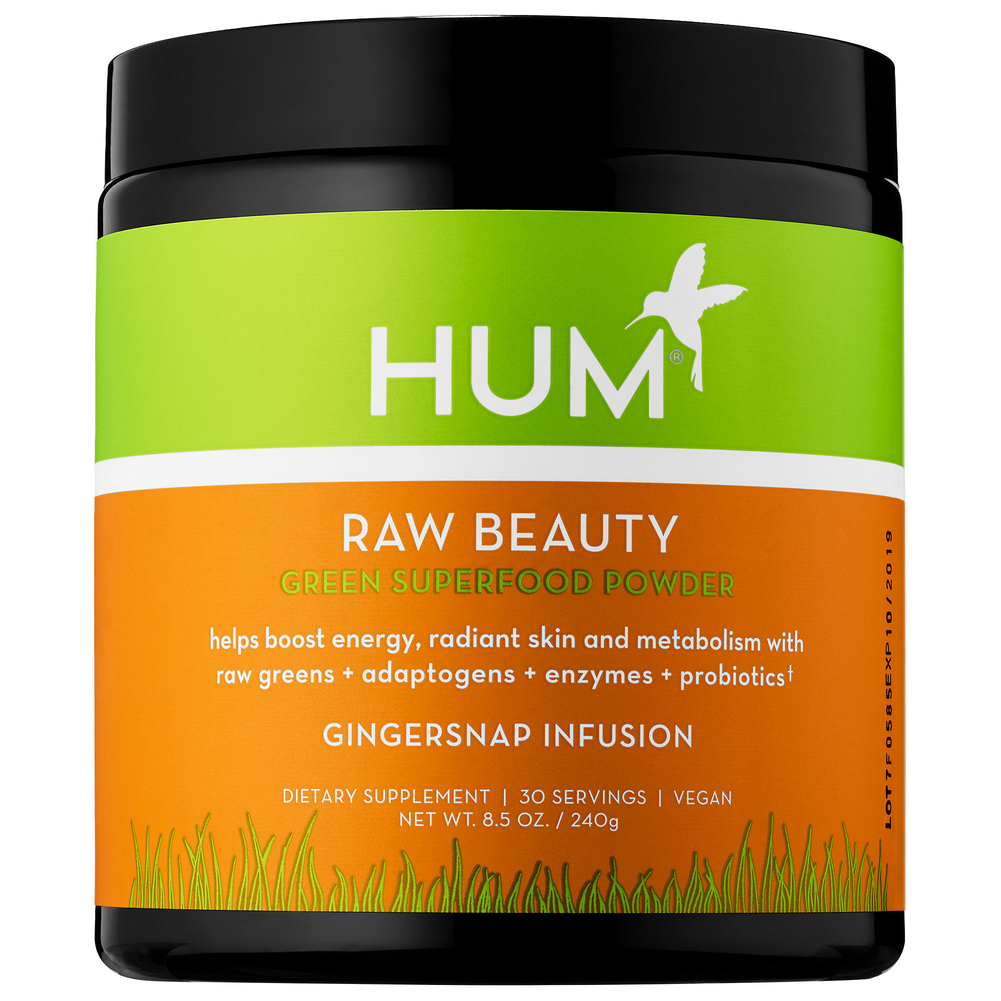 Raw Beauty HUM 39.00  https://www.sephora.com/product/raw-beauty-skin-energy-superfood-powder-gingersnap-infusion-P426837