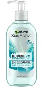 Garnier   SkinActive Refreshing Facial Wash with Aloe