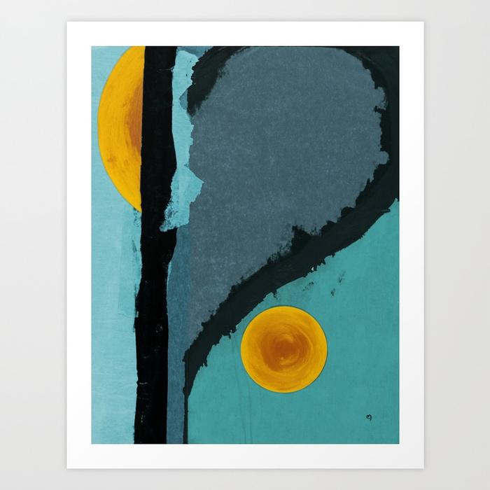 Turquoise Twelve by   Marina Kanavaki