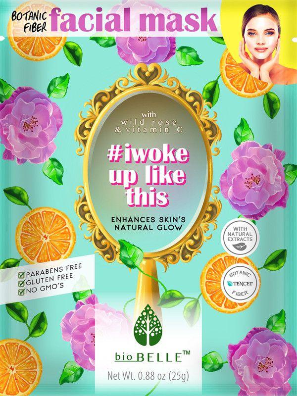 Biobelle   #IWokeUpLikeThis Sheet Mask