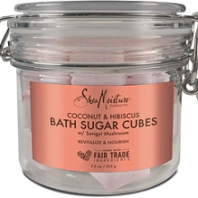 Sheamoisture   Coconut & Hibiscus Bath Sugar Cubes