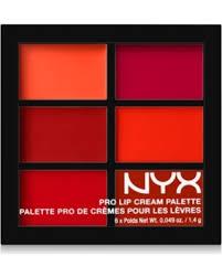 NYX   The Reds Pro Lip Cream Palette