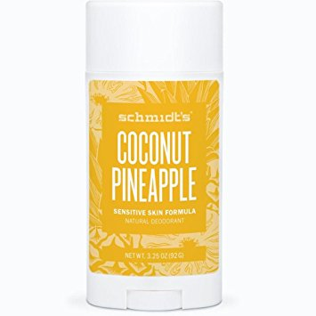 Schimdt's   Coconut Pineapple Natural Deodorant – Sensitive Skin Formula
