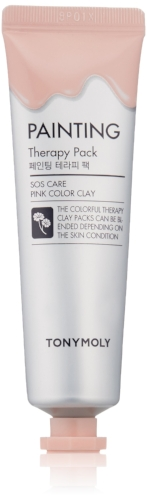 Tonymoly   Painting Therapy Pack – Pink Clay SOS Care
