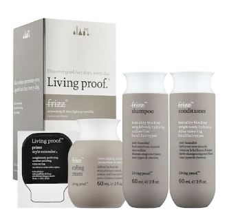 Living Proof   No Frizz Smoothing & Frizz Fighting Travel Kit