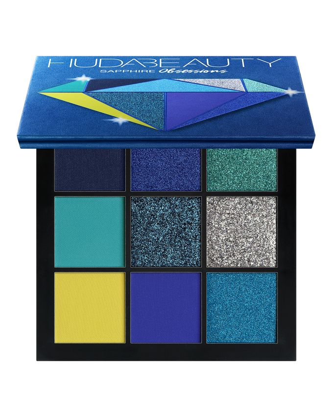 Huda Beauty   Obsessions Eyeshadow Palette – Sapphire