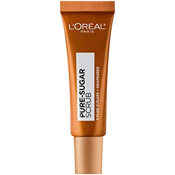 L'Oreal   Pure Sugar Smooth and Glow Grapeseed Lip Scrub