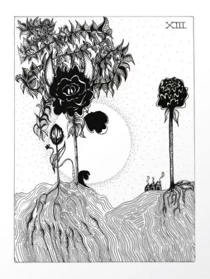 The Death Card by   Artbyboa